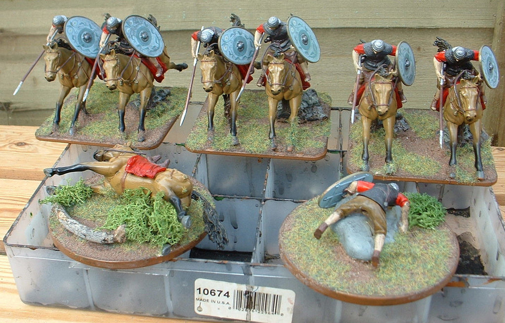 Early Imperial Roman Cavalry - 1/32 Scale. Forces of Valor. (Hobby Post)