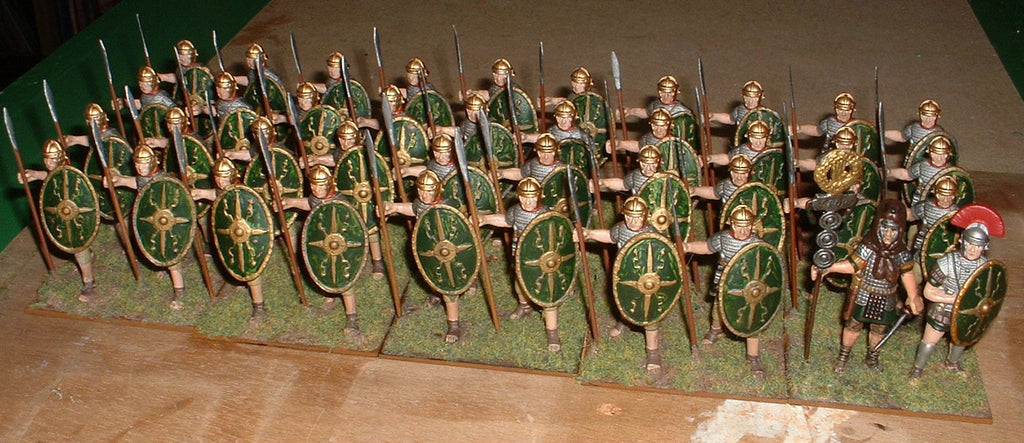 Roman Auxiliary Infantry - 60mm metal. (Hobby Post)