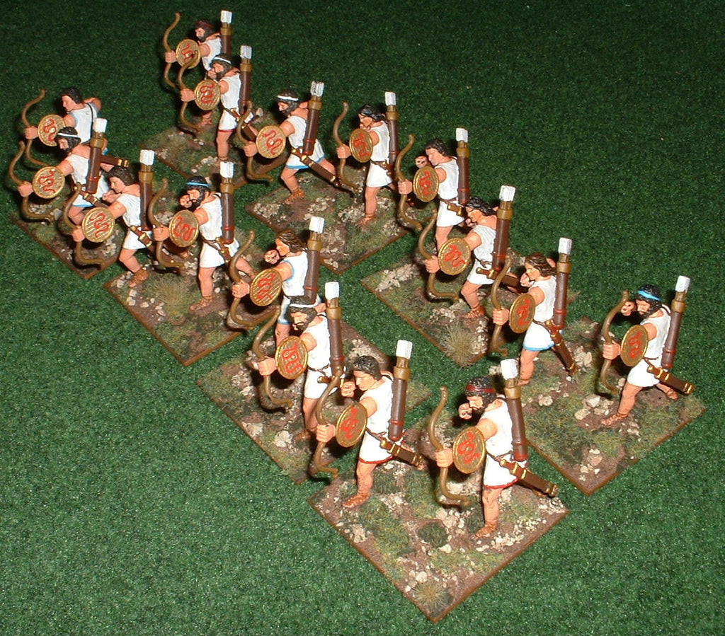 Cretan Archers - Expeditionary Force 60mm plastics. (Hobby Post)