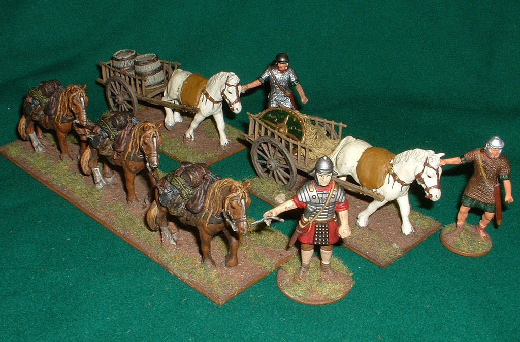 Roman Supply Train. Baggage Ponies 1/32 scale