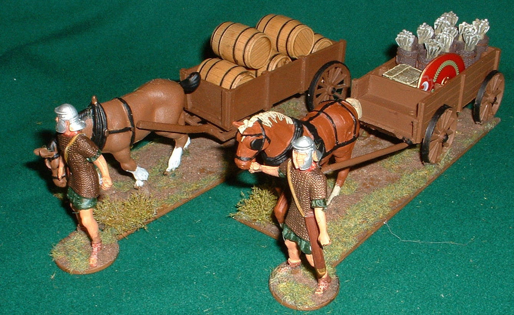Roman Supply Wagons 1/32 scale