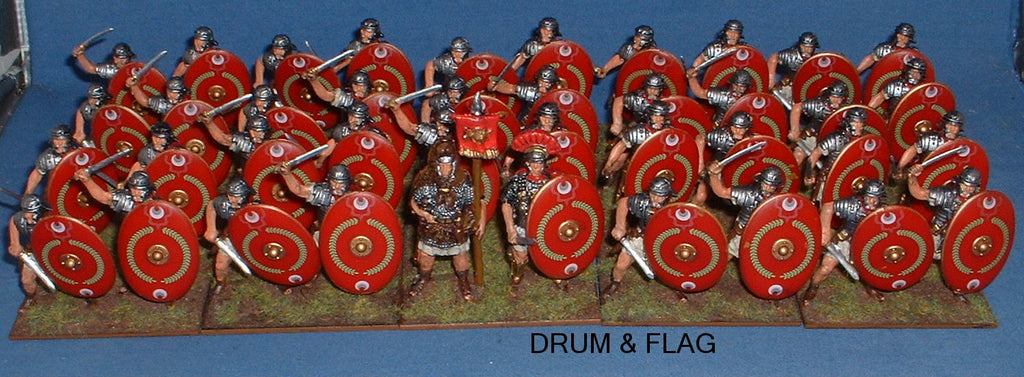1/32 Scale Praetorian Guard.  Converted A Call to Arms Romans