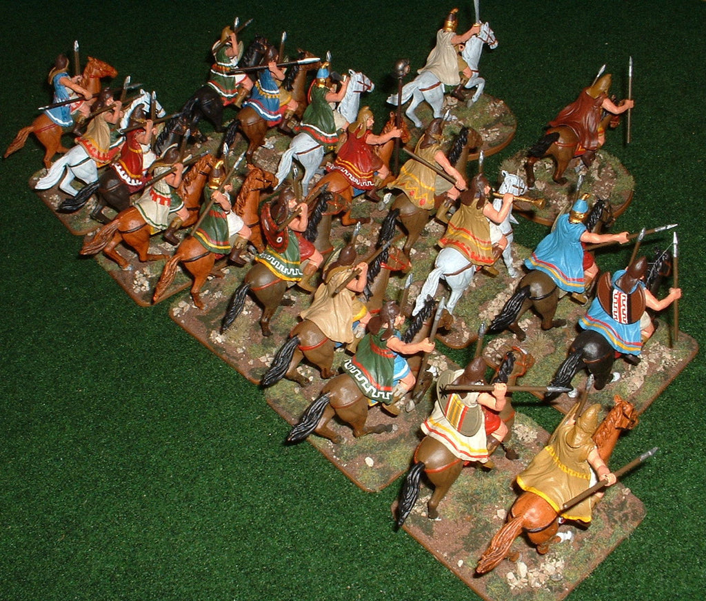 Thracian Light Cavalry - Expeditionary Force 60mm plastics. (Hobby Post)