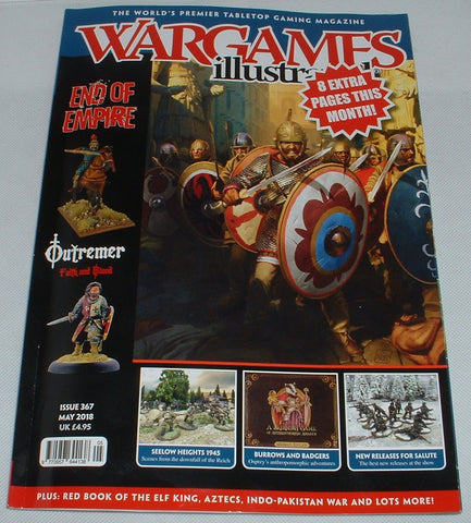 Wargames Illustrated May 2018 Issue 367 Drum and Flag Article
