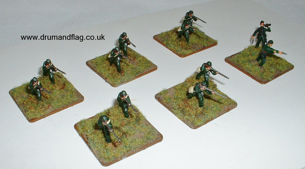 Berdan's Sharpshooters in 1/72 scale plastic