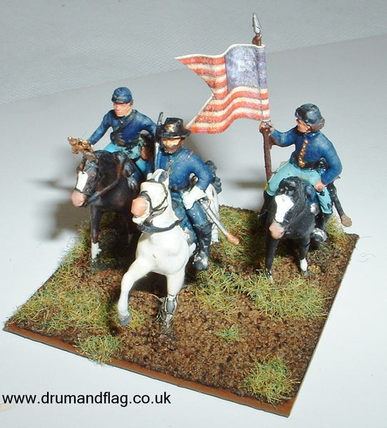1/72 scale painted Italeri Union General Command Stand