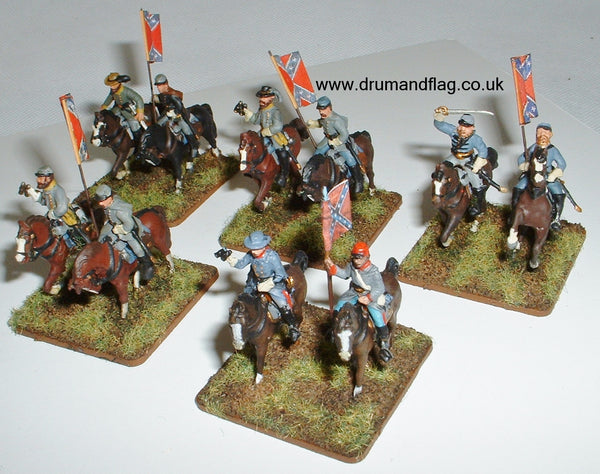 Confederate Division Commanders 1:72 scale