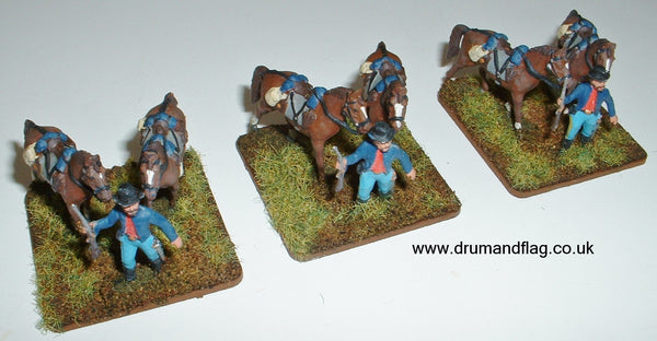 Union Cavalry Horse Holders 1/72 scale