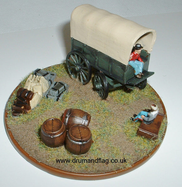 Confederate Wagon 1/72