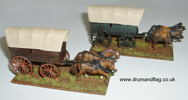 Civil War Wagons 1/72
