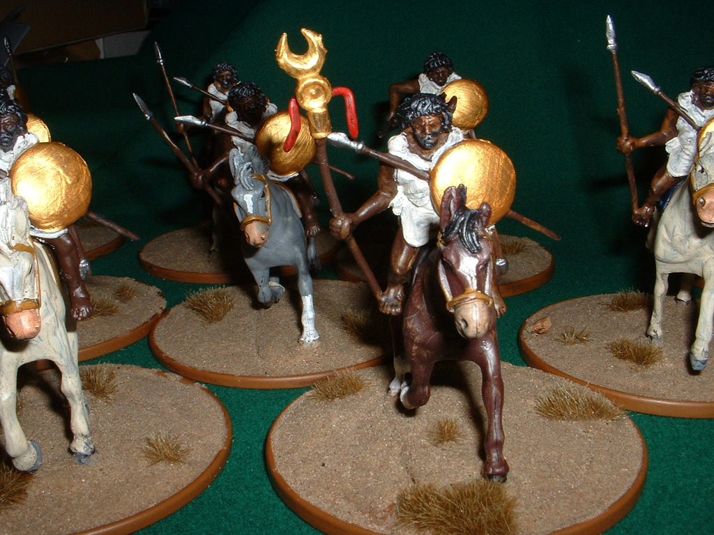 HaT Industrie - 1/32 Scale Numidian Cavalry - 54mm - Punic Wars