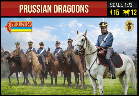 Strelets 229 Napoelonic Prussian Dragoons