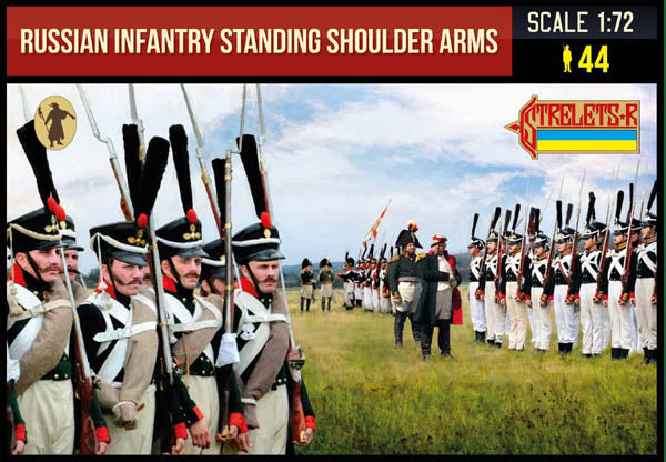 216 Russian Infantry Standing Shoulder Arms (Nap)