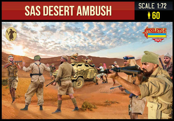 STRELETS SAS DESERT AMBUSH WW2