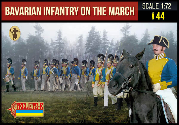 272 Bavarian Infantry on the March (Nap)