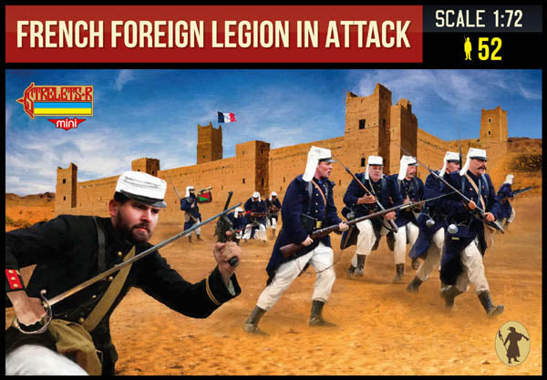 M147 French Foreign Legion in Attack (Rif War)