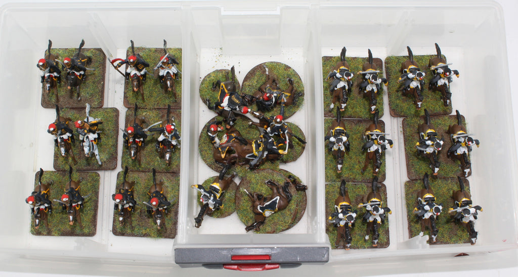 Napoleonic British Light Cavalry - Airfix & HaT. 1/72 SCALE PLASTIC FIGURES