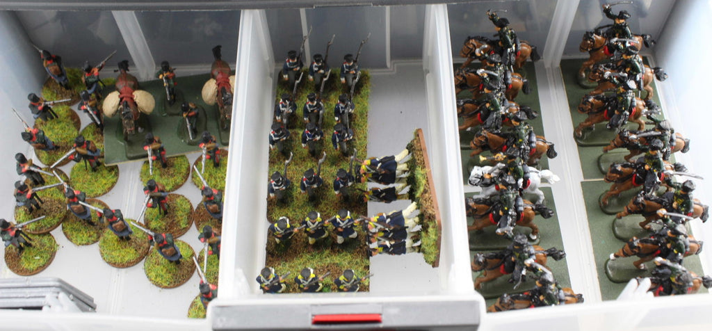Napoleonic Prussian Jaegers and Hussars in 1/72 scale
