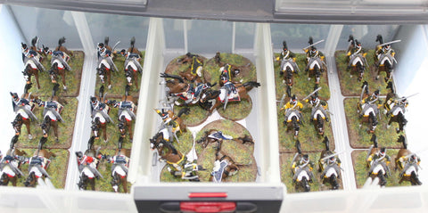 Napoleonic Dutch-Belgian Light Cavalry 1/72 scale plastic