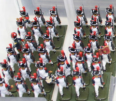 My Napoleonic French 1/72 scale army - Zvezda Imperial Guard Grenadiers
