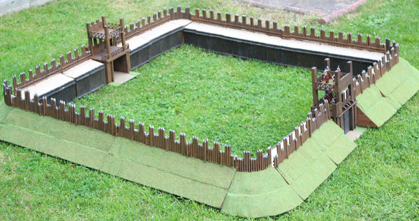 Scratch Built 1/32 Scale Roman Fort
