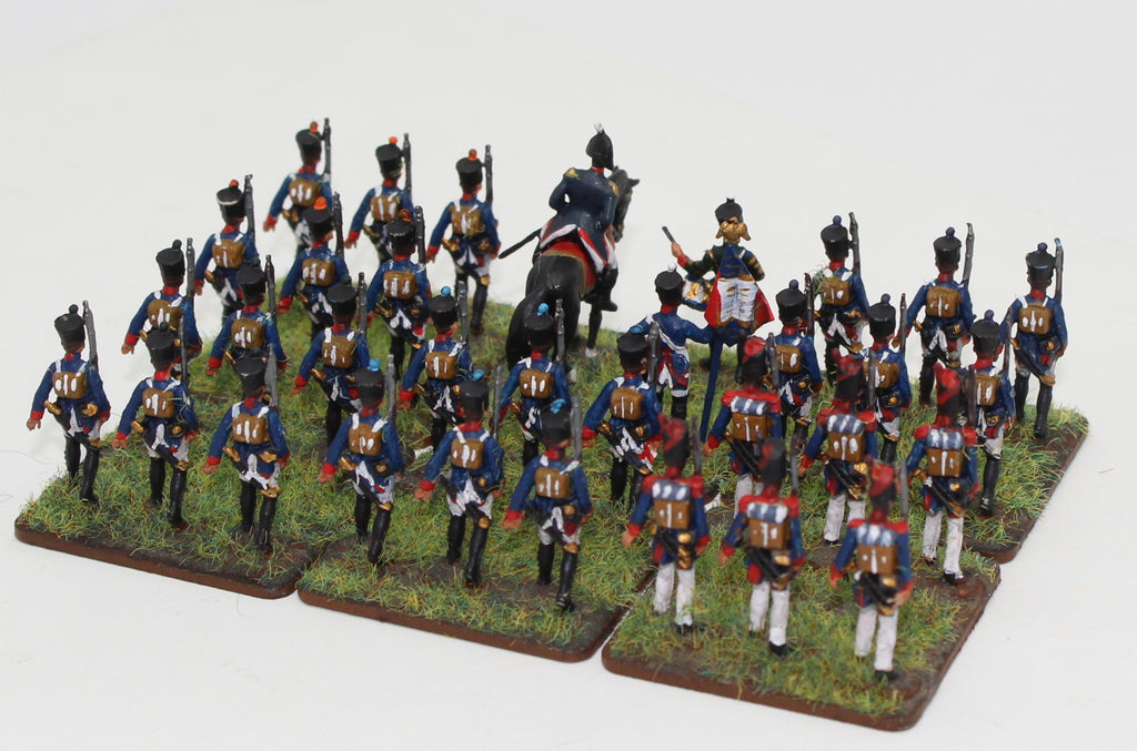 Italeri Napoleonic French Infantry - mostly from set 6002