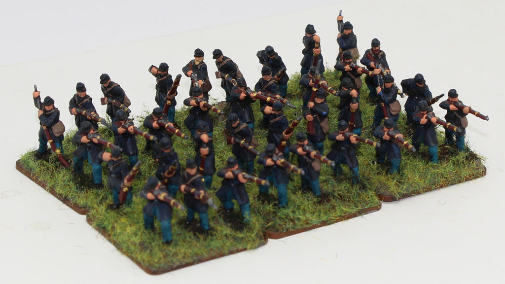 Strelets ACW Union Infantry 1/72 Scale. Firing Poses