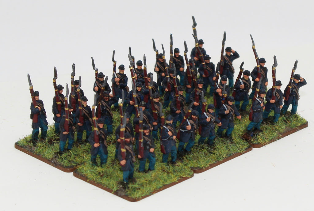 Strelets ACW Union Infantry 1/72 Scale. Marching poses