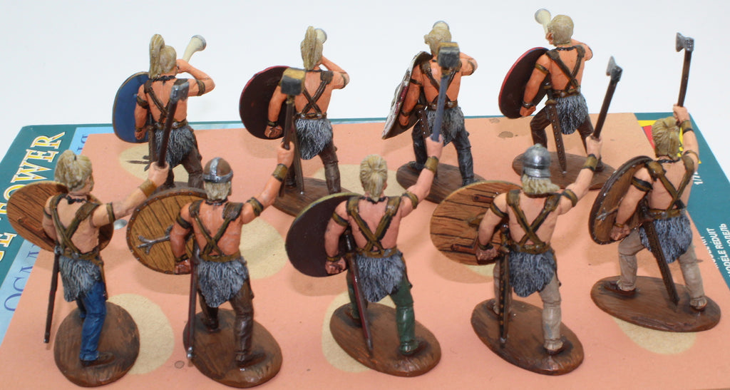 Expeditionary Force Early Germans - Command, Painted