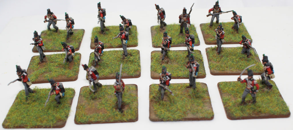 Napoleonic British Light Infantry - 1/72 Scale. Mainly HaT