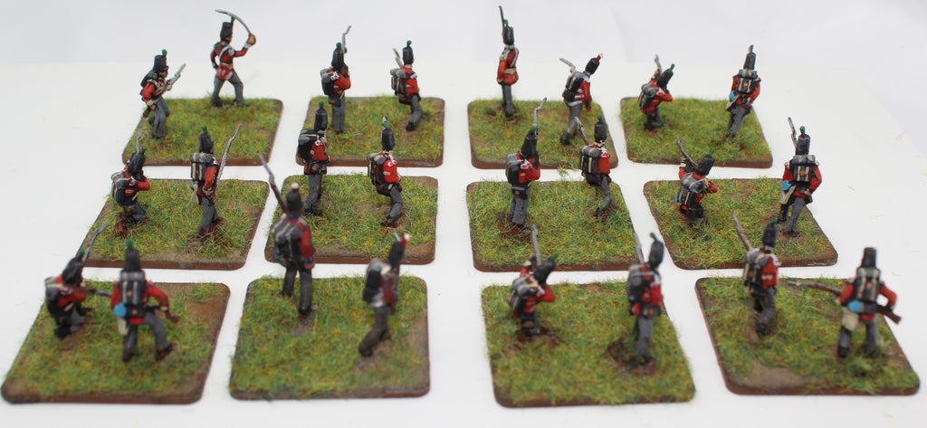 Napoleonic British Light Infantry 1/72 Scale. Mainly HaT