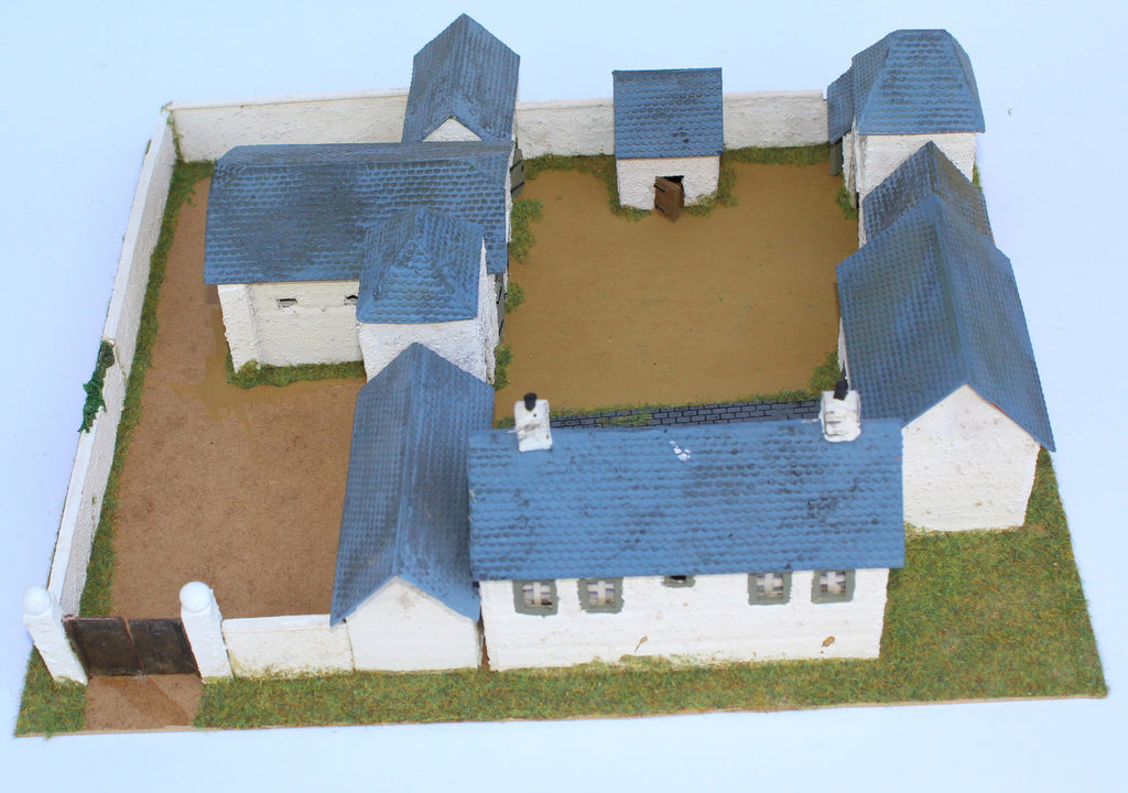 Ferme d'en Haut. Battle of Ligny 1815. 1/72 Scale. Chris Dodson