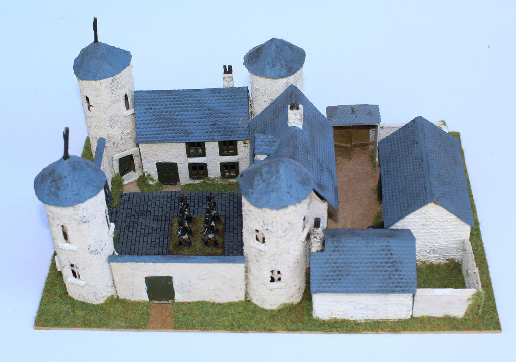 Chateau de Looz. Battle of Ligny 1815. 1/72 Scale. Chris Dodson