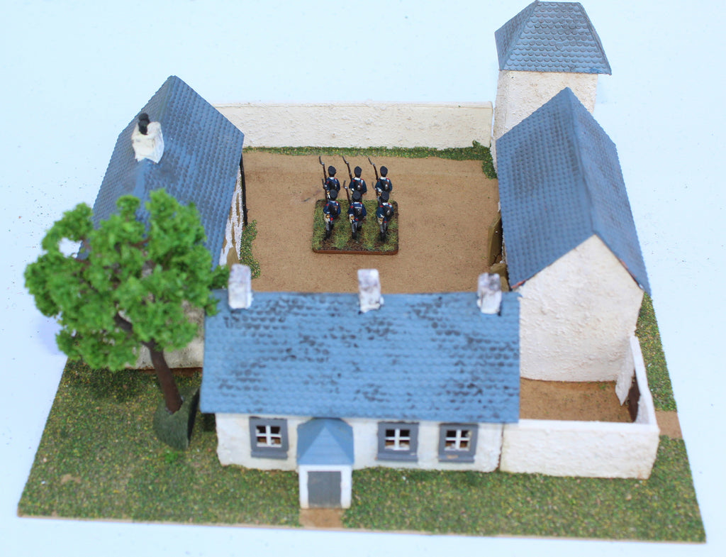Ferme d'en Bas. Battle of Ligny 1815. 1/72 Scale. Chris Dodson