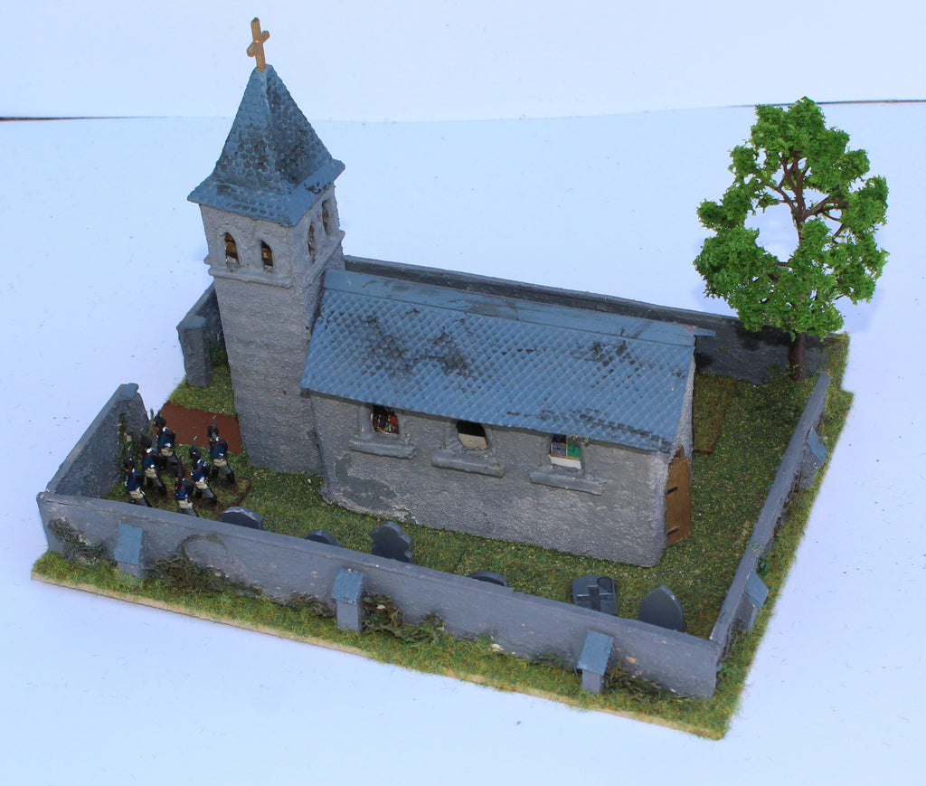 Church. Battle of Ligny 1815. 1/72 Scale. Chris Dodson