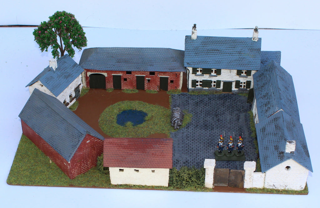 Grand Pierpont Farm. Battle of Quatre Bras 1815. 1/72 Scale.