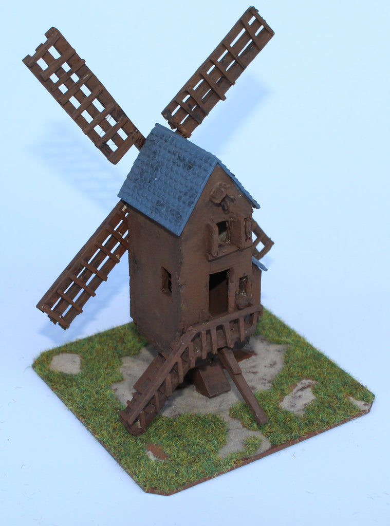 Fleurus Windmill. Battle of Ligny 1815. 1/72 Scale. Chris Dodson