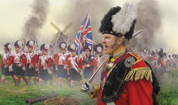 140 Napoleonic Highlanders on the March (Nap)