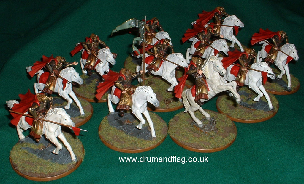 High Elf Cavalry - Armies of Middle Earth Conversions (Hobby Post)