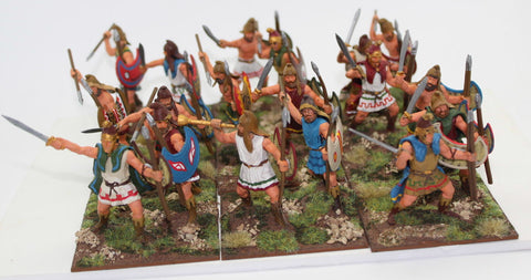 Expeditionary Force - Thracian Peltasts - Painted 60mm Plastic