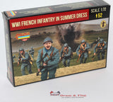 "Strelets 192 Rif War French Foreign Legion ""Desert Patrol"". 1/72 Scale Plastic Figures"