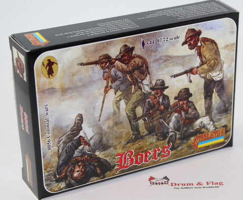 Strelets Set #56 - Boers. Boer War. 1/72 Scale Plastic Figures
