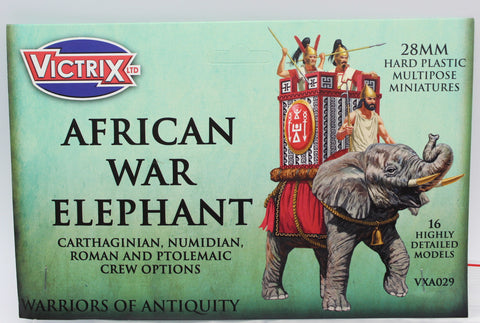 Victrix VXA029 - African War Elephant - 28mm Hard Plastic