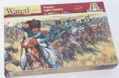 ITALERI 6080 - NAPOLEONIC FRENCH LIGHT CAVALRY. 1:72 SCALE.