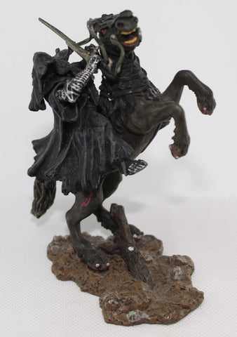 Ringwraith on Rearing Horse. Nazgul. LORD OF THE RINGS AOME (ARMIES OF MIDDLE EARTH). Used