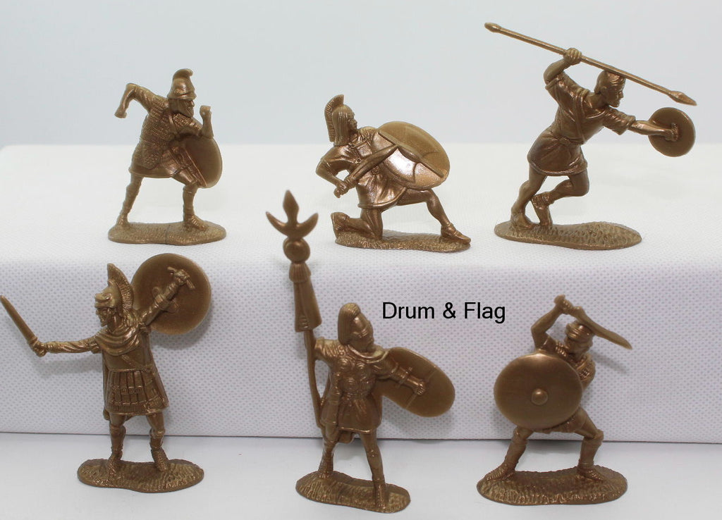 CTS - CARTHAGINIANS - 1/32 Scale Plastic. 12 figures in 6 different poses.