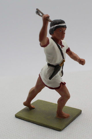HaT 32004 - Balearic Slinger - Punic Wars. 1/32 Scale. 54mm. Painted Metal