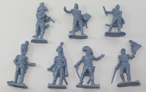 INCOMPLETE SET - CHINTOYS cht002 NAPOLEON'S GENERAL STAFF 1/32 SCALE 55-60mm