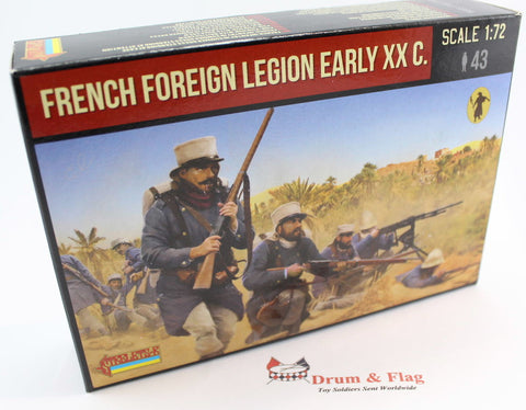 Strelets Set 186 - French Foreign Legion - Rif War. 1/72 Scale Plastic Figures