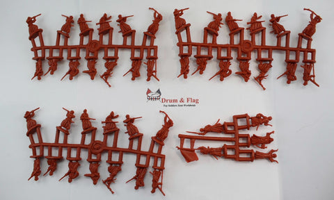 NO BOX! Strelets Set 185 - Foot Arab Rebels - Rif War. 1/72 Scale Plastic Figures.